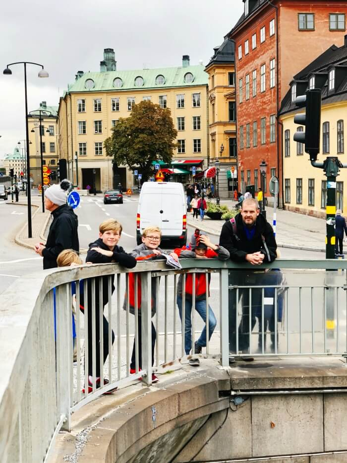 TRAVELING WITH KIDS IN STOCKHOLM