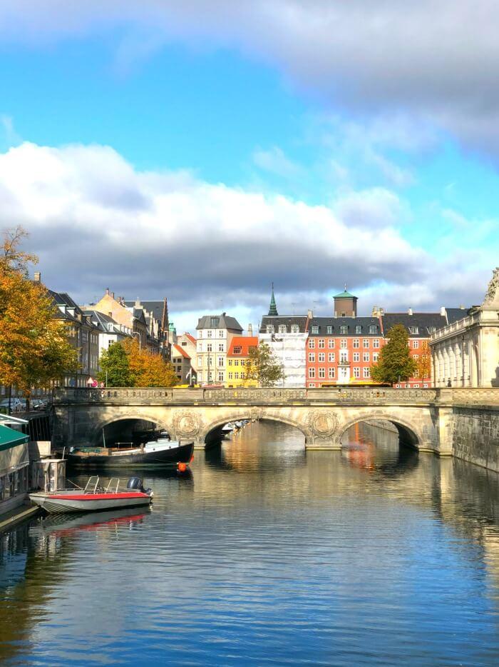 VIEW OF CANAL COPENHAGEN
