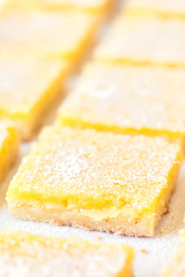 BEST LEMON BAR RECIPE