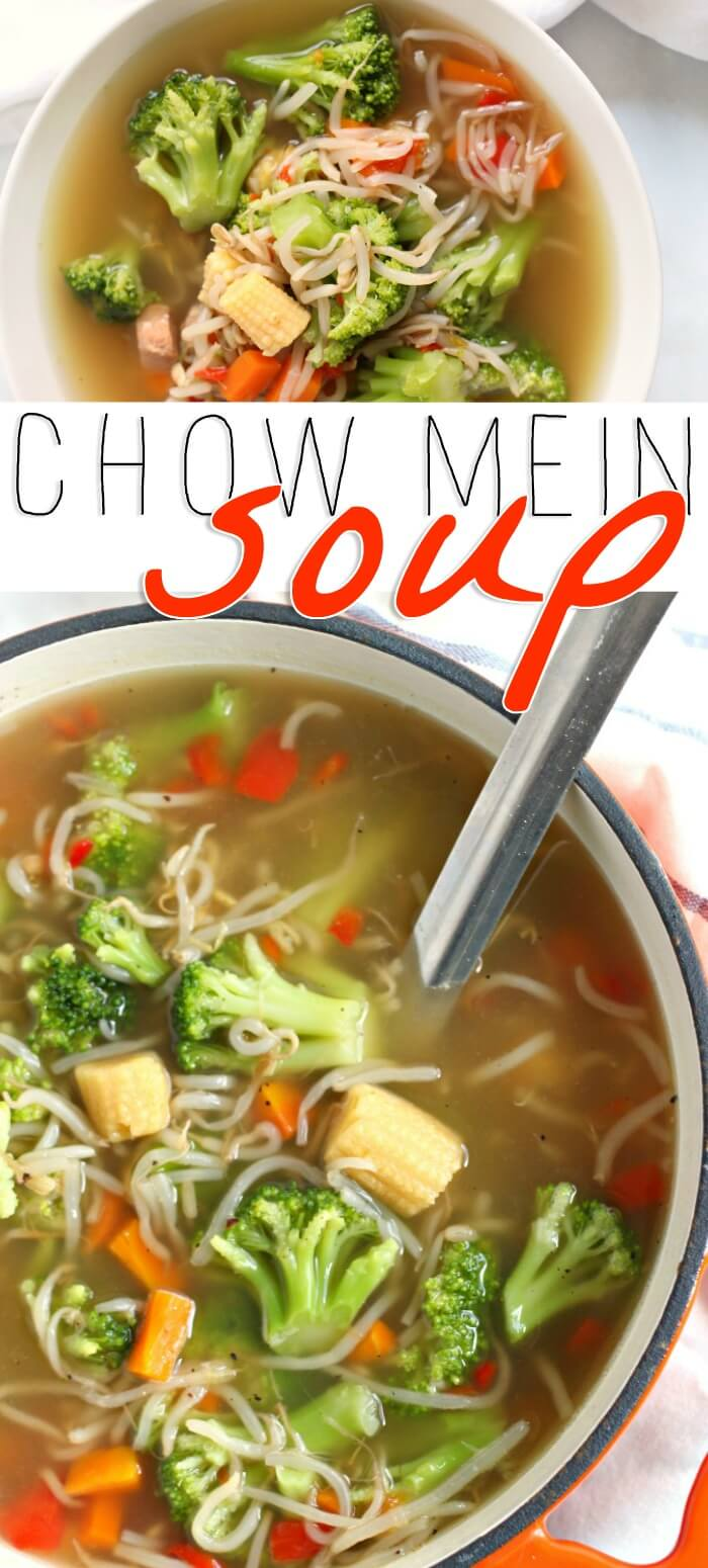 CHOW MEIN SOUP RECIPE
