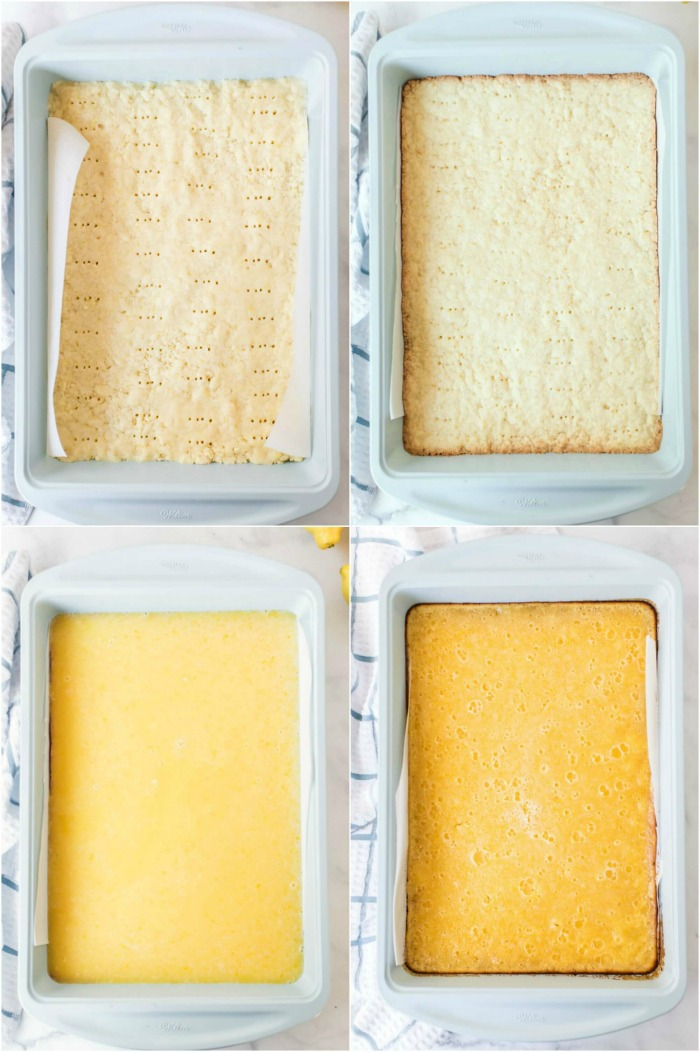 HOW TO MAKE LEMON BARS STEP BY STEP