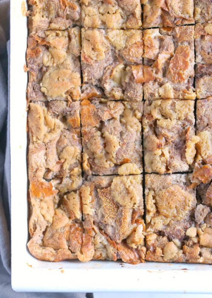 FRENCH TOAST CASSEROLE SQUARES