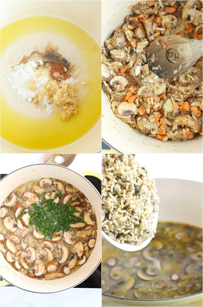 HOW TO MAKE WILD RICE SOUP