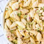 TUNA NOODLE SALAD WITH PEAS