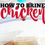 BRINE CHICKEN RECIPE