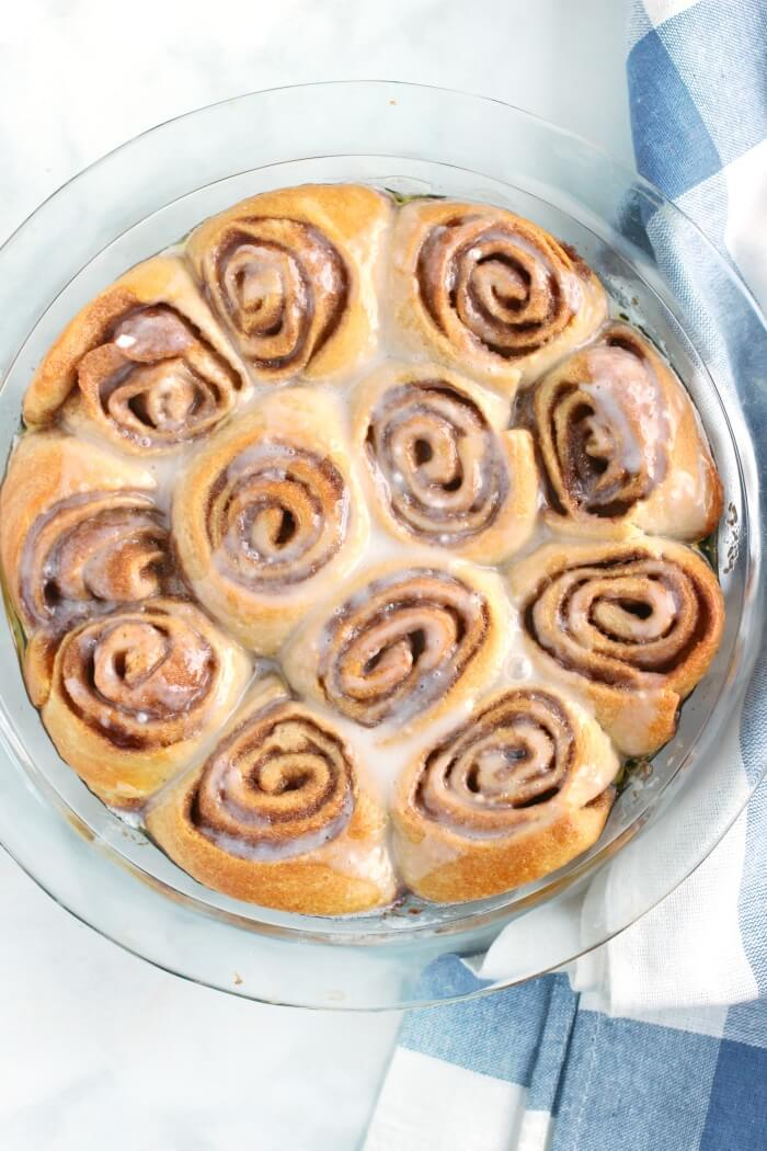 CRESCENT CINNAMON ROLL RECIPE