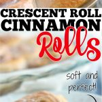 CRESCENT ROLL CINNAMON ROLL RECIPE