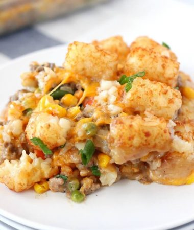 TATER TOT CASSEROLE EASY