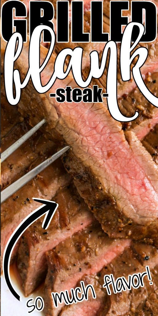 EASY GRILLED FLANK STEAK