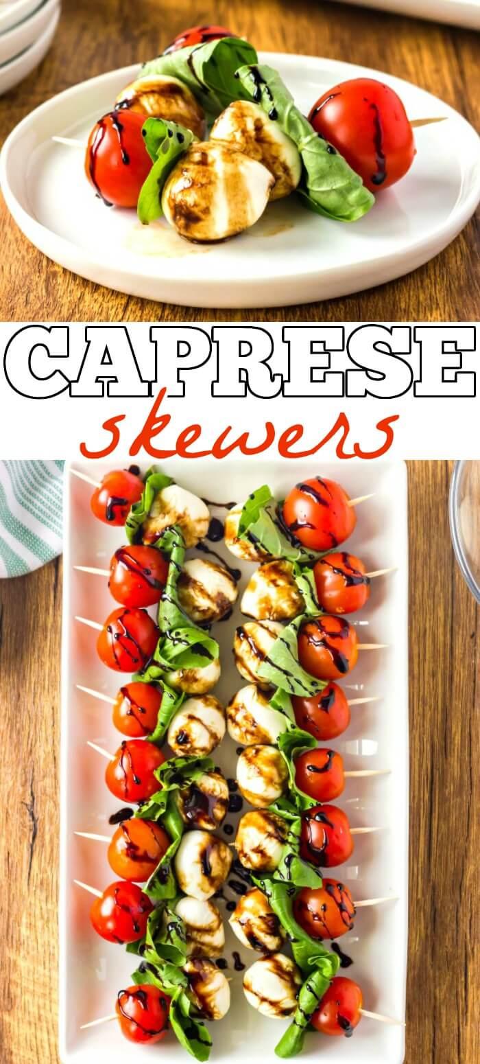 CAPRESE SKEWERS RECIPE