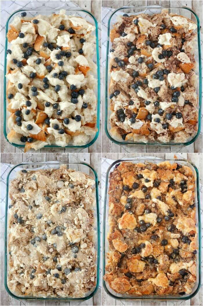 HOW TO MAKE BLUEBERRY FRENCH TOAST CASSEROLE