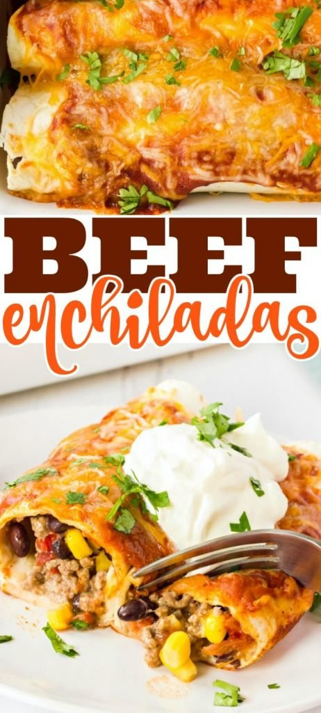 BEEF ENCHILADA RECIPE