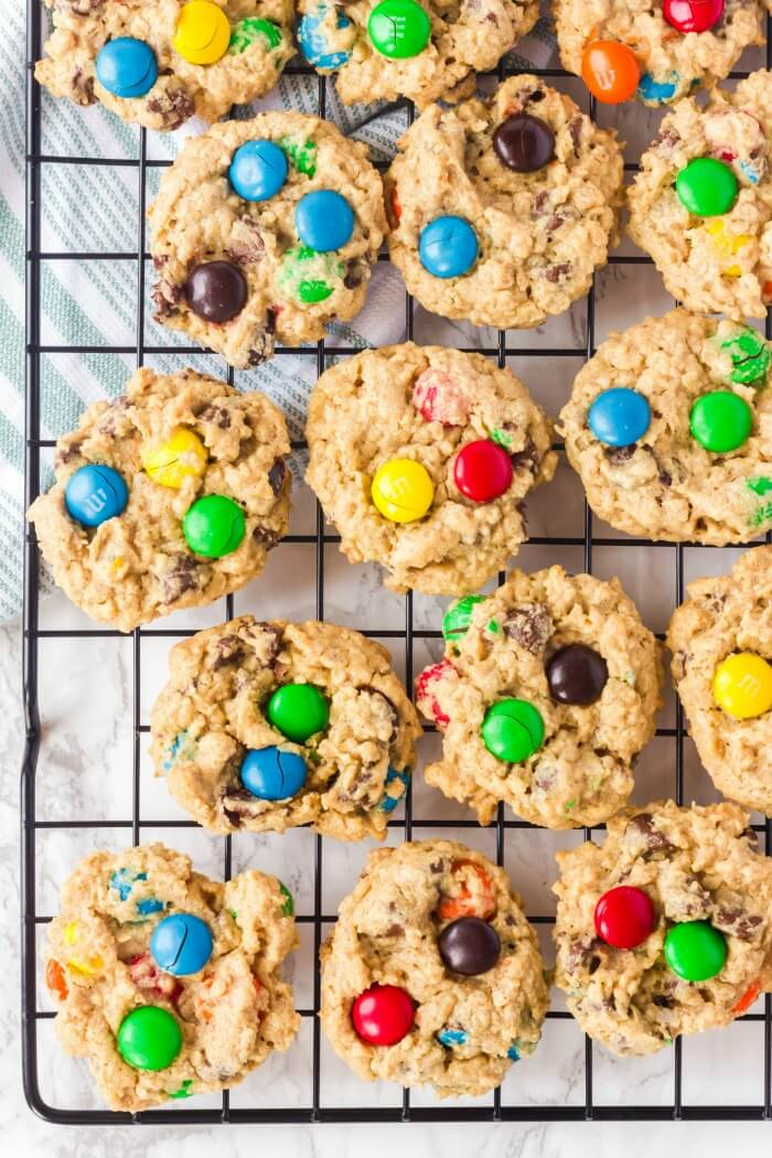EASY MONSTER COOKIE RECIPE