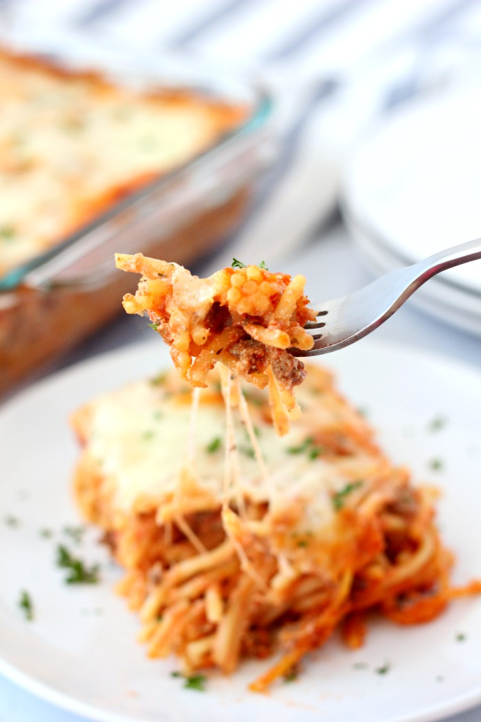 BAKED SPAGHETTI RECIPE EASY