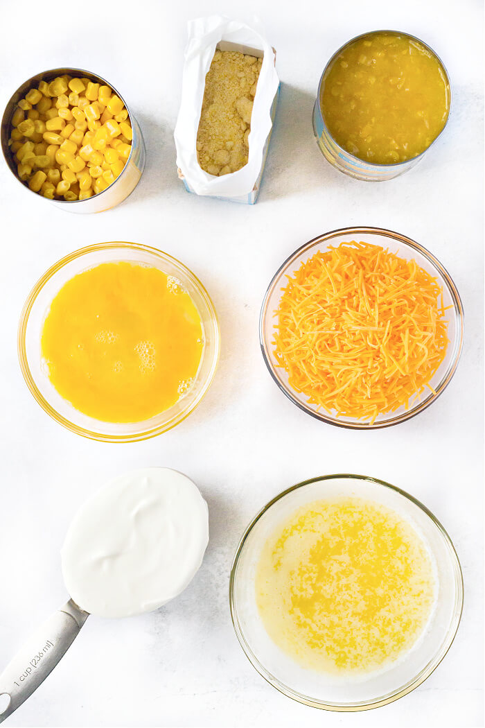 CORN CASSEROLE INGREDIENTS