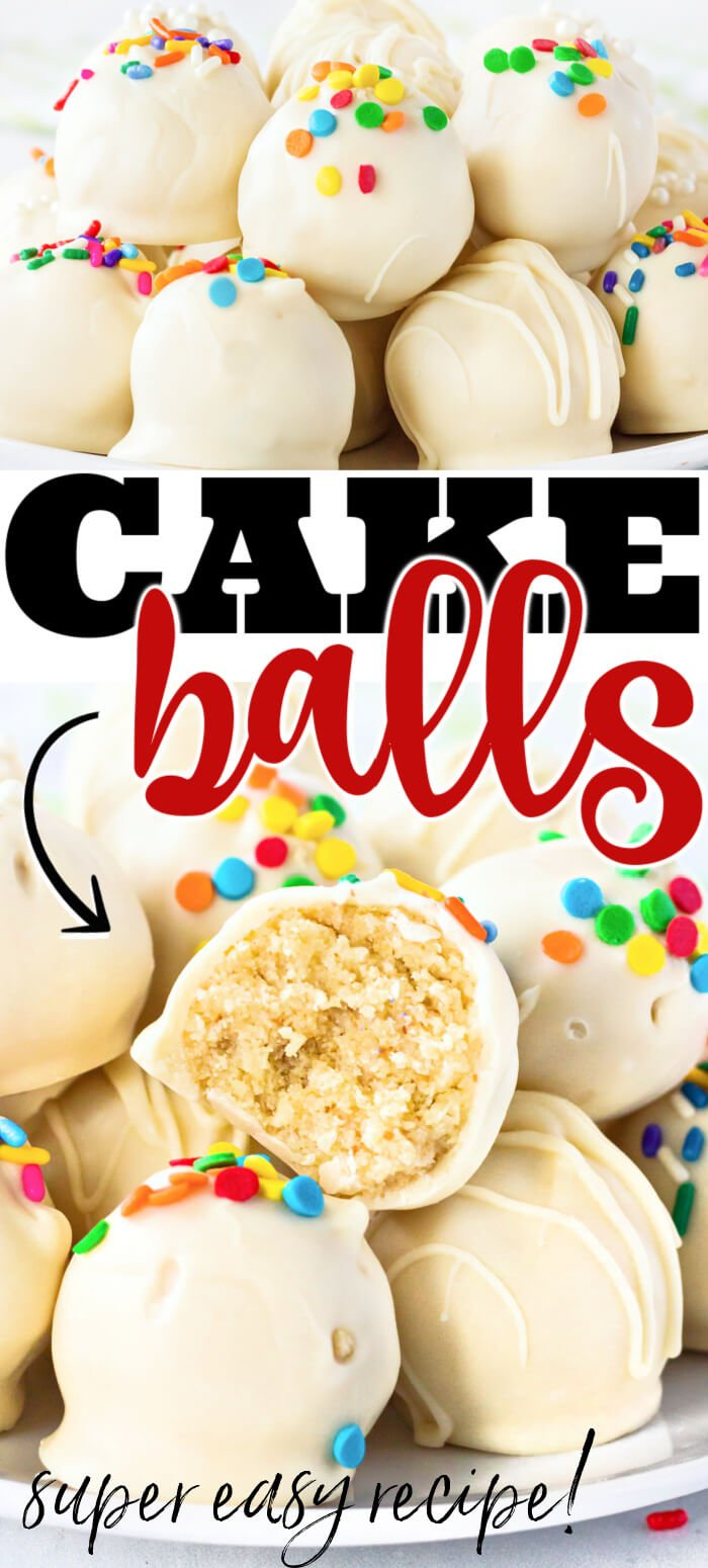 EASY CAKE BALLS RECIPE