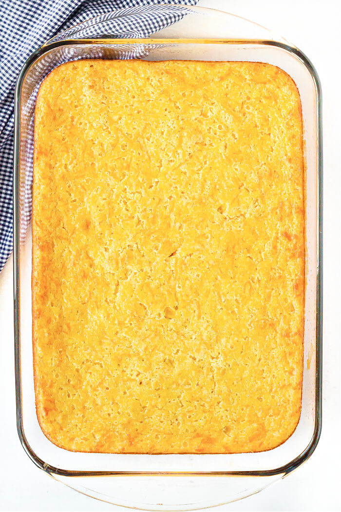 HOMEMADE CORN CASSEROLE