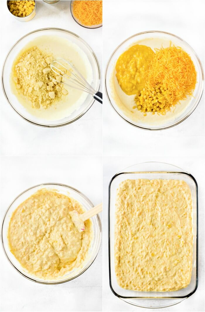 HOW TO MAKE CORN CASSEROLE