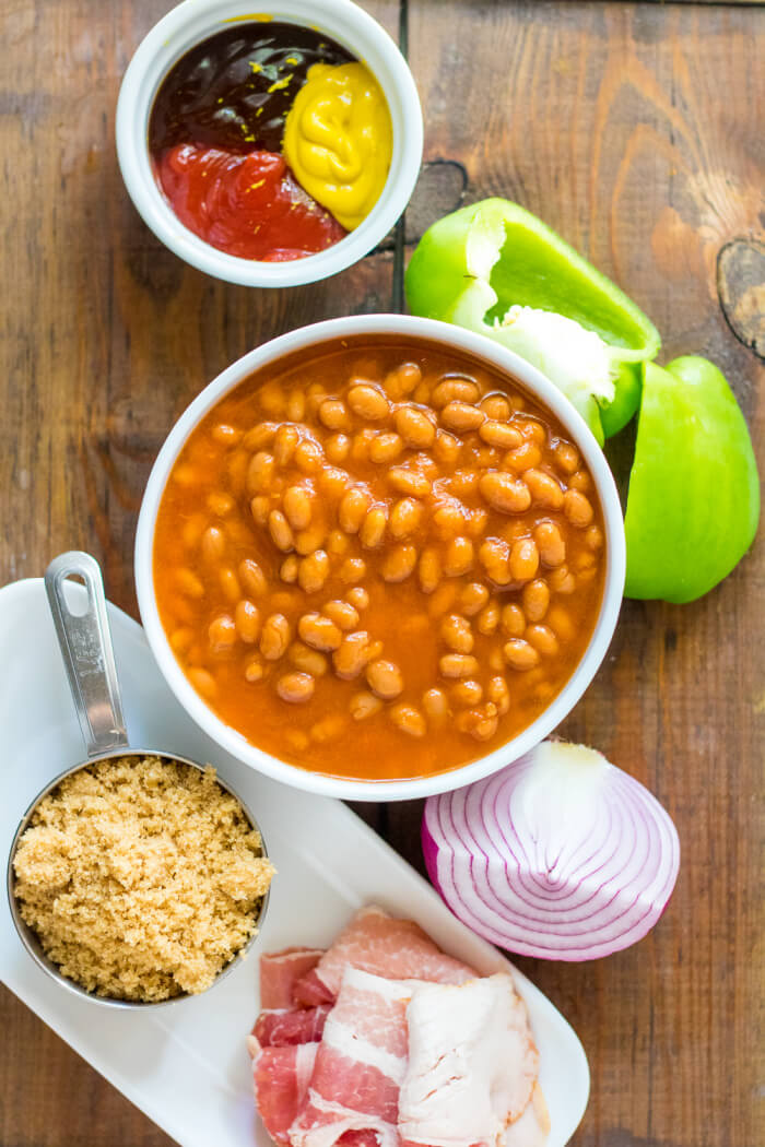 BAKED BEANS INGREDIENTS