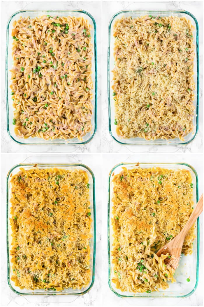 HOW TO MAKE TUNA CASSEROLE