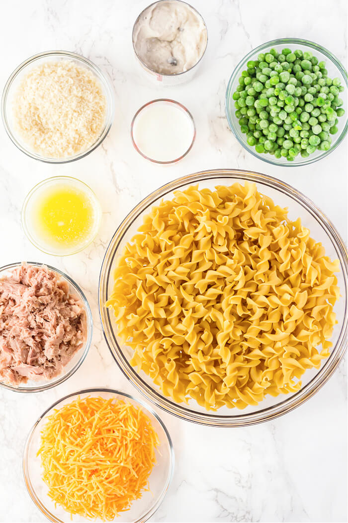 TUNA CASSEROLE INGREDIENTS