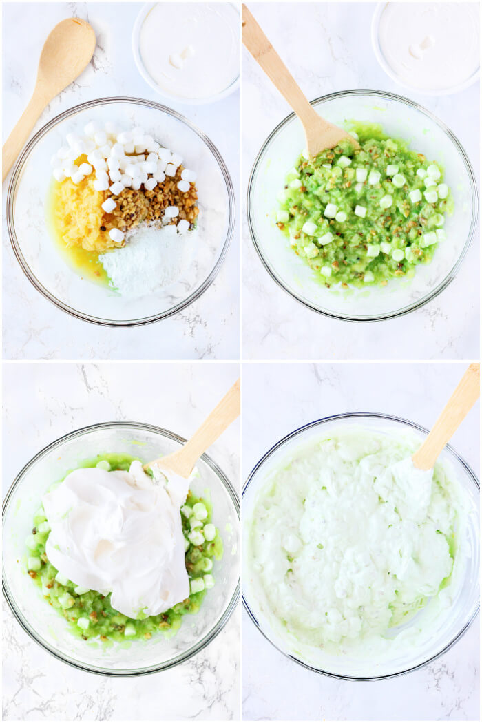 HOW TO MAKE WATERGATE SALAD
